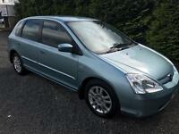 2003 Honda Civic 1.6, only 85k, 1 pr Owner, MOT 02/18