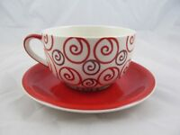 Whittard's of Chelsea HUGE Tea Cup and Saucer