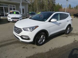 2018 Hyundai Santa Fe Sport LEATHER, SUNROOF, LOADED!!