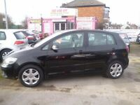 Volkswagen GOLF PLUS SE TDI,5 dr hatchback,full MOT,great family car,runs and drives well,great mpg