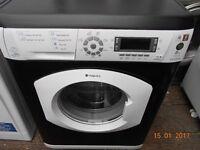 Hotpoint 8Kg washing machine 1600 spin in good clean working order 3 months warranty