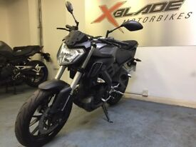 Yamaha MT 125cc Manual Motorcycle, 1 Owner, Low Miles, V Good Condition, ** Finance Available **