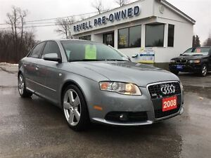 2008 Audi A4 S-Line AWD Quattro, Summer & Winter Tires