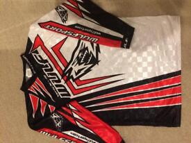 Wulfsport Junior Stratos Moto Cross clothing set