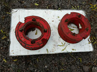 Tractor wheel weights - Nuffield
