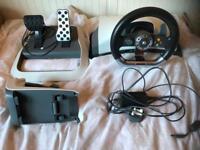 MS XBox 360 Steering Wheel