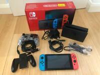 Nintendo Switch V2 + Controller