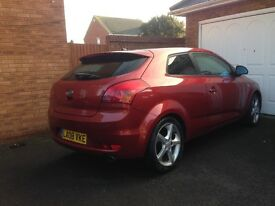 Kia pro ceed for sale.full leather clutch and cambelt done good tires 12 month mot