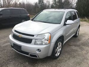 2009 Chevrolet Equinox SPORT AWD WITH LEATHER & MOONROOF Oakville / Halton Region Toronto (GTA) image 2