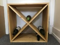 24 Bottle wine storage cube
