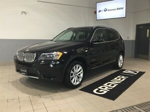 2013 BMW X3 xDrive35i+ Groupe premium+Cuir nevada