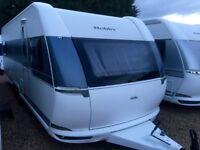 Hobby Caravan 650 Kfu prestige (2015/16 Model) 6 Berth with Bunk Beds. Like Tabbert/Fendt