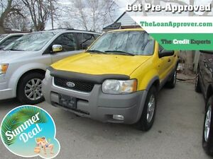 2001 Ford Escape XLT *  4X4 * LEATHER