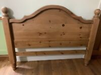 Pine Headboard suitable for a double bed