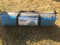 Halfords 2 Person Dome Tent with Porch Great for Festivals