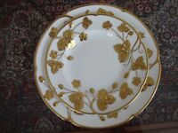 Minton Victoria Strawberry Gold Plates