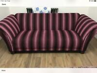 Large 3 seater sofa excellent condition