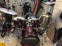 Sonor Fusion Drum Kit