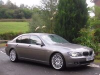 """2008 BMW 730d M SPORT AUTO **MEGA SPEC - PEARL LEATHER - 20"""" RIMS - FULL HITORY - IMMACULATE**"""