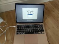 Apple MacBook Air 2020 Rose Gold. Perfect condition used once