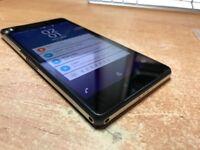 Sony Xperia Z2 black 16GB unlocked! no vibration.