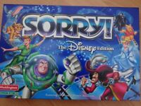 Sorry! - Disney Edition Board Game, age 6 to adult.