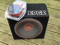 Edge 900 watts subwoofer and leads kit
