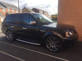 Range Rover sport, 2.7 V6 - Full service history, 22 inch alloys, sat nav and Bluetooth