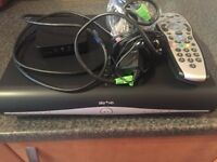 Sky box +HD with wireless connector