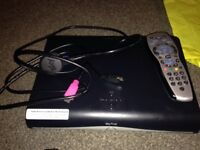 Sky+ HD Box, sky remote& cables
