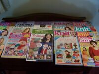19 Knitting magazines in excellent condition