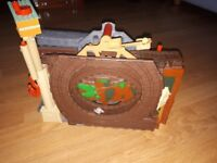 Thomas and friends carry away train track