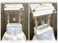 Wedding post box wishing well