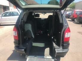 Vauxhall zafira wheelchair accessible vehicle disabled ramp access