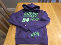 Superdry Ladies Purple Hoodie