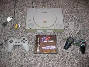 PLAYSTATION 1 PS1 SCPH-1001 AUDIOPHILE WITH AUDIO OUT JACKS * WORKS GREAT!