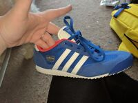 Size 5.5 Adidas trainers hardly worn as too small