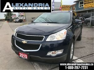 2010 Chevrolet Traverse 1LT/7passengers/loaded/169km/safety incl