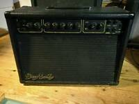 Dean Markley combo amp with Marshall foot switch