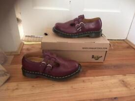 Cherry Red Dr Marten Mary Janes