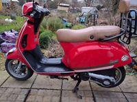 Baotian Monza 125 cc Low mileage (3417 Miles)