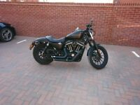 Harley Davidson 883 Iron Sportster with Vance and Hines exhaust - Plus Extras! - 5.5K ONO