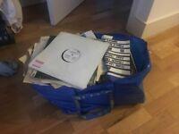 One Ikea Bag of Vinyl Records