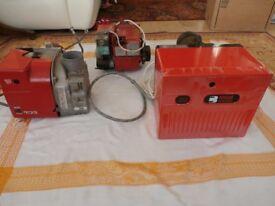 3x oil burners