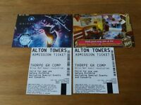 scarefest alton towers any day tickets