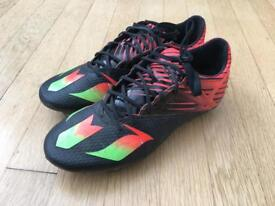 Boys Adidas Messi 15.2 Football Boots. Size 6.