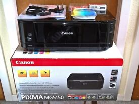 Canon PIXMA MG5150 all-in-one printer - fully working