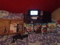 Wii u 32gb 4games good condition
