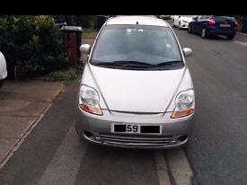 chevrolet matiz 1 litre in silver 59 plate ready to go new cam belt fitted and recent tyres