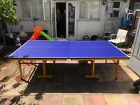 Table Tennis Table - Like New - Full Size